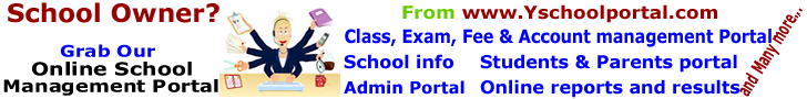 Grab Yschoolportal Online school management portal for easy school administration